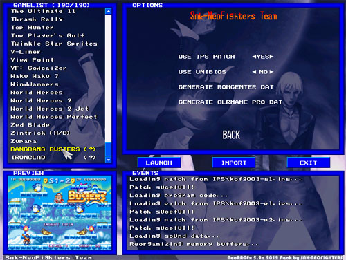 emulateur neogeo windows 7