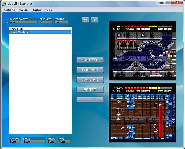 blueMSX launcher